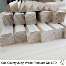 Construction timber fillet paulownia wood chamfer strips