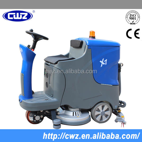 Automatic multifunctional floor washing cleaning machine