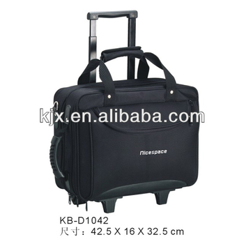 Best Brand High Quality 1680D Polyester Laptop Trolley Bag