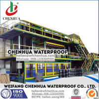 SBS bitumen water proofing membrane planting machine -- China factory direct sale