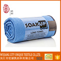 roll package customize microfiber travel sport fitness beach sport towel