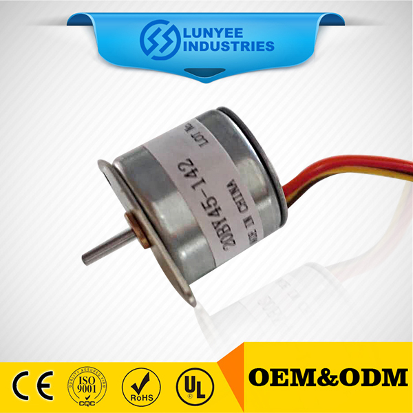 high power PM stepper motor with gearbox