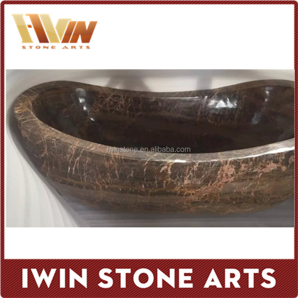 Brown marble bathtub price factory wholesale
