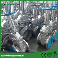 cast steel bolted bonnet flexible wedge flanged gate valve