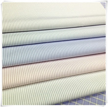 Ready goods,poly cotton stripe fabric for shirt