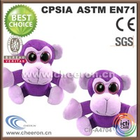 Promotional Items Big Eyed Monkey Adult Plush And Stuffed Toys