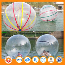 2015 hot sale Dia 2m PVC1.0mm inflatable water walking ball made in China