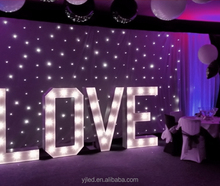 china led love letter sign lights
