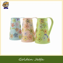 Family gift items types of flower Pitcher vase