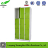 steel furniture kd structure hotel staff luggage shoes storage 9 door locker metal