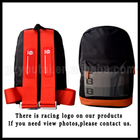 JDM Racing Backpack School Backpack Manufacturer China Travel Bag For Teenage Canvas Backpack Red