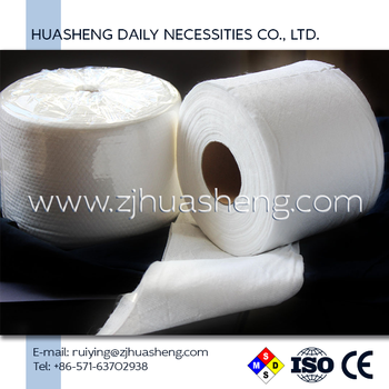 Cotton Disposable Roll Towel Dry HS5353 Nonwoven Towel in Roll