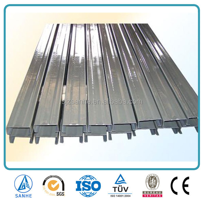 China manufacture galvanized steel z purlin C section C channel steel frame