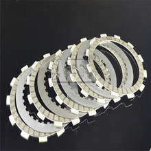 A set Motorcycle Engine Parts Clutch Friction Plates Kit & steel plates For SUZUKI GW250 GW 250 2012-2014