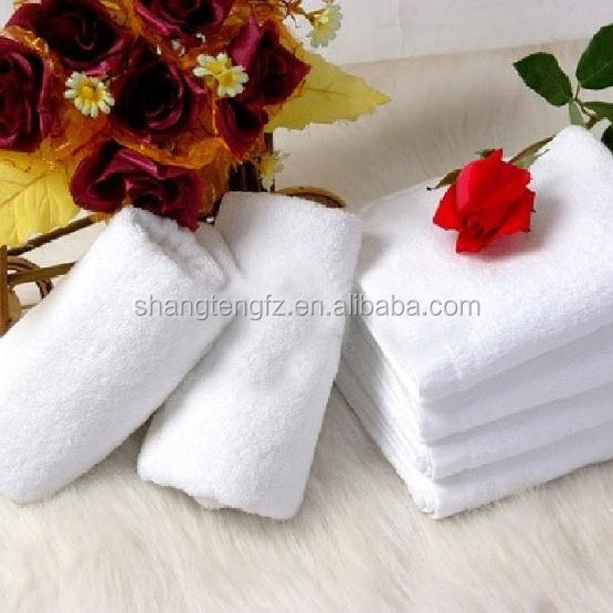 wholesale square shape hand <strong>towel</strong> white color with great price