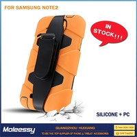 Heavy case for samsung note 3 case hard stand