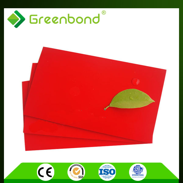 Greenbond acp polycarbonate sheets 3mm