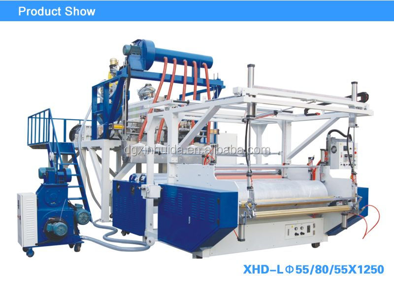 Manual Driven Type and Cartons Packaging Type stretch film making machine