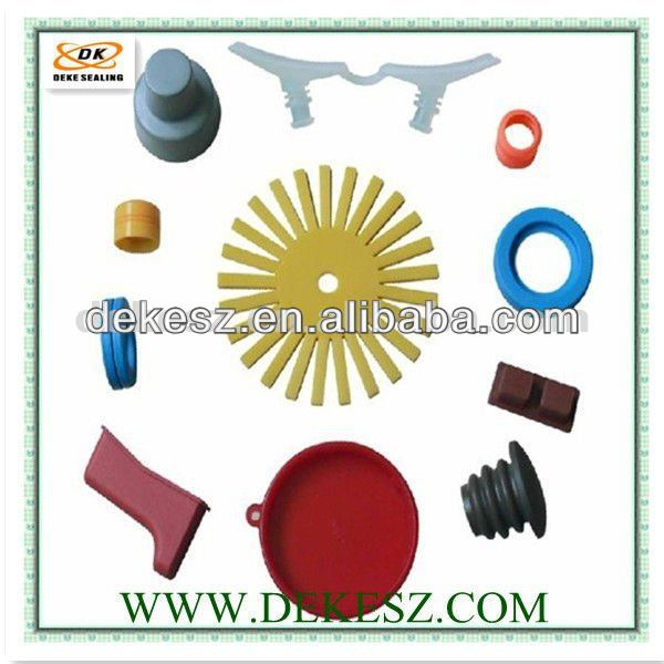 Rubber custom silicone product industrial ISO9001-2008 TS16949