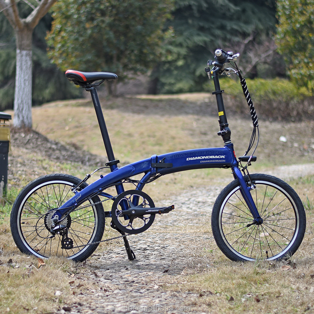 Diamondback hidden battery 36V350w electric folding bicycle