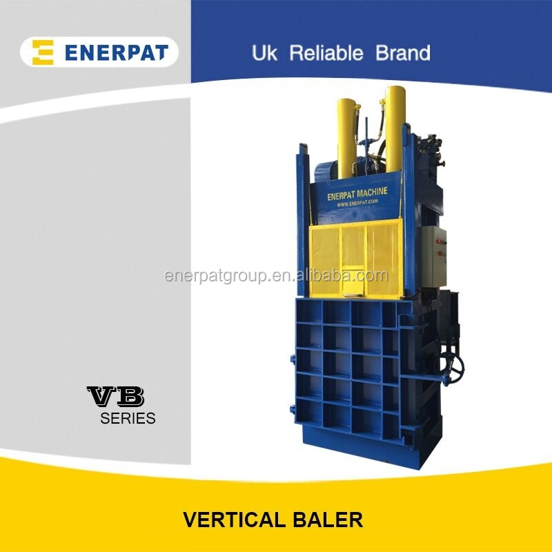 ENERPAT VB-50 Baler /Vertical Baler Machine Price/Large Loading Aperture