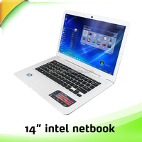 china manufacturer for 14 inch laptop computer with Intel Celeron J1900 2.0GHz
