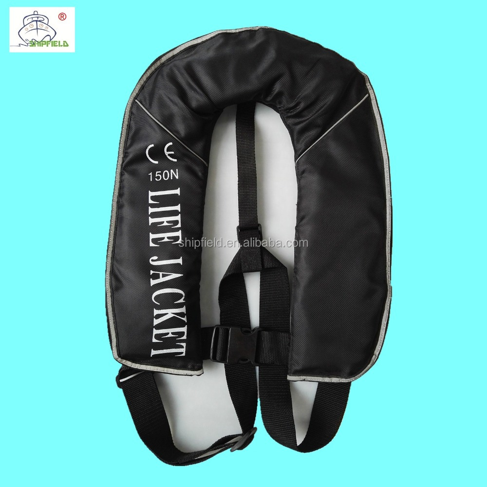 CE child personalized inflatable life jacket for lifesaving