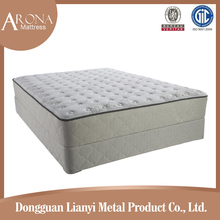 Knocked down packing mattress foundation and pocket spring mattress