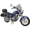 Chinese newest style super power 125CC Chopper Motorbikes