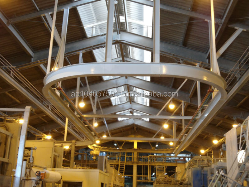 Curved Monorail Beams & Hoist