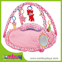 New arrival funny cartoon carpet soft toy home gym for kids