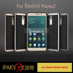 Original Ipaky Hybrid Back Cover Phone Case for Xiaomi Redmi Note 3, Wholesale TPU+PC Neo Hybrid Case for Xiaomi Redmi Note 3
