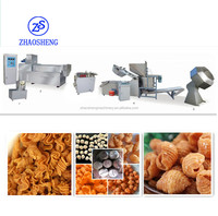 pasta pellet snacks food making extruder machine/Process line