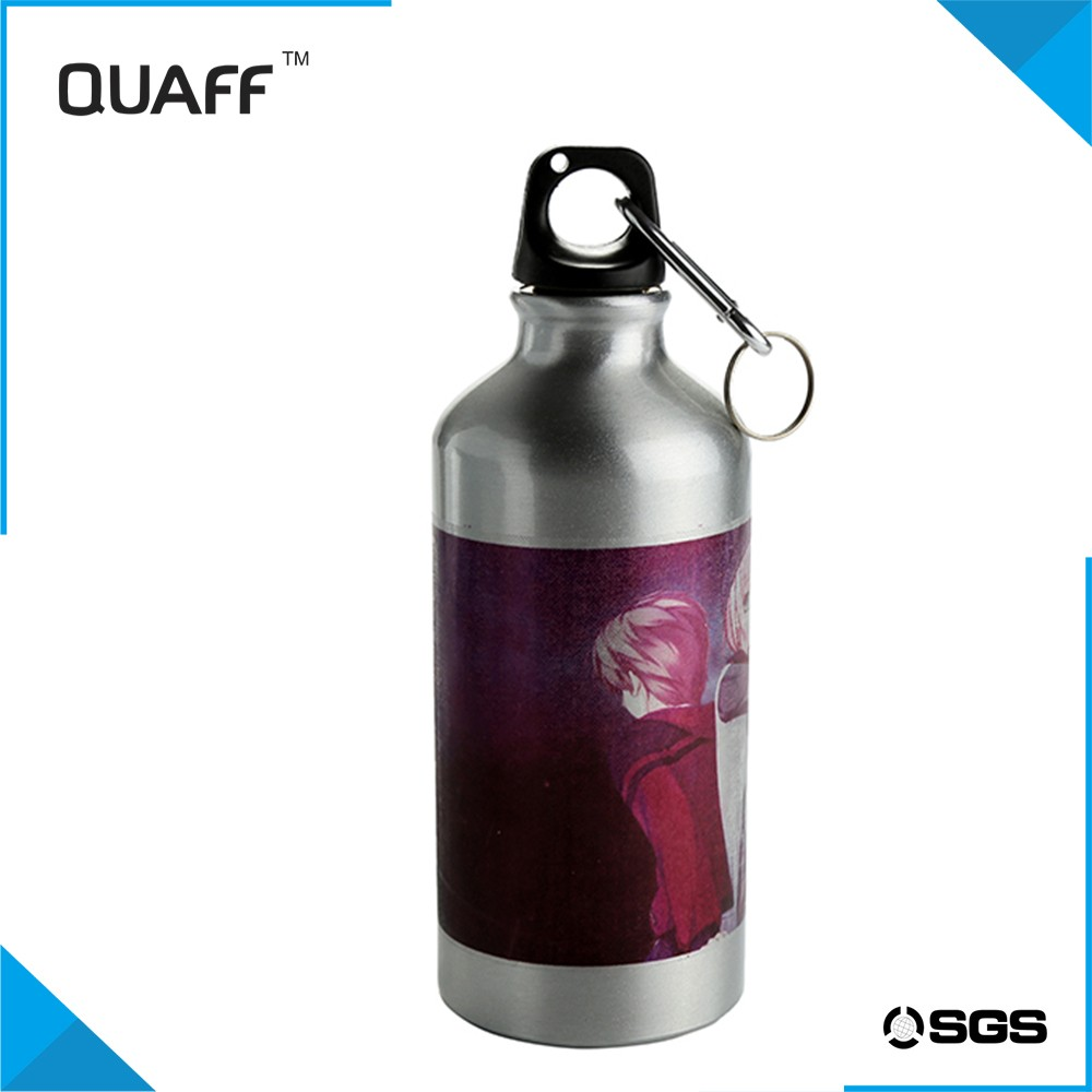 New design QUAFF Coated Sports Jug white/sliver