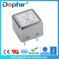 Single Phase Plastic Case Exchange Machine Electric Filter with Pin