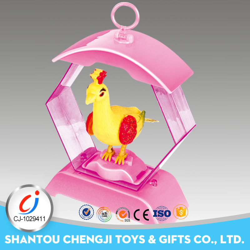 Funny voice control B/O plastic bird toys for kids