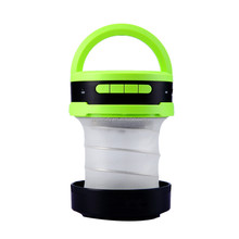 Portable LED Camping Light Bluetooth Speaker