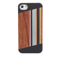 Mixed Color Wooden case/wooden phone case for iphone 5/for iphone 5S case wood