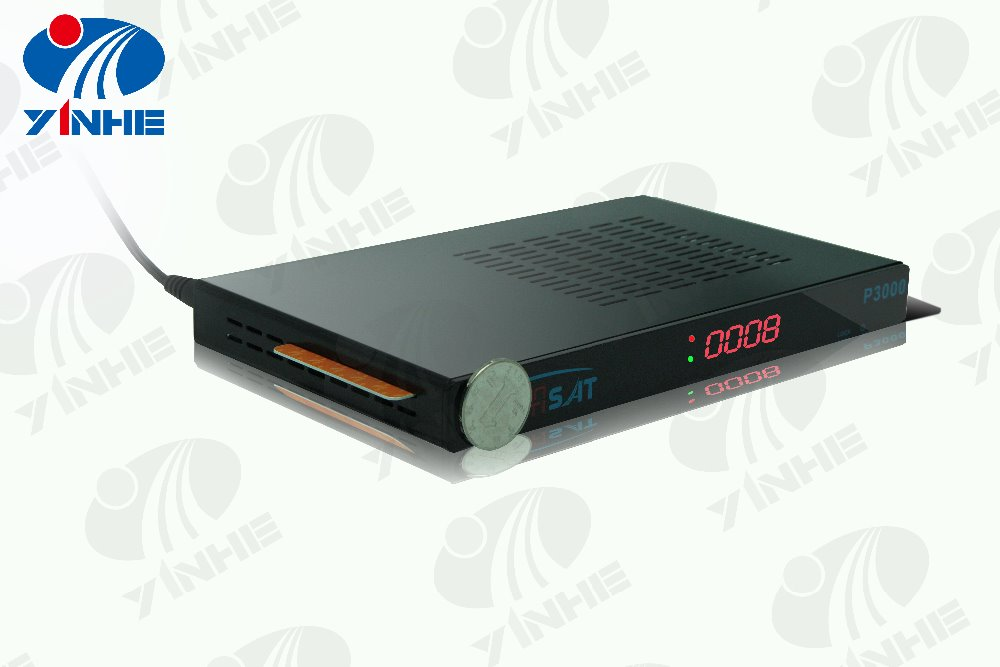 YinHE 27D Thin FTA HD DVB S2 + DVB T2 set top box