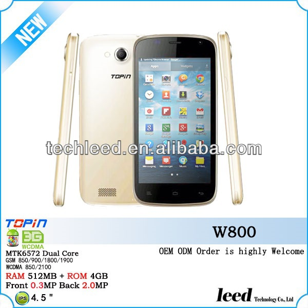 Good quality Android 4.2.2 2 camera Wifi 3G cellphone