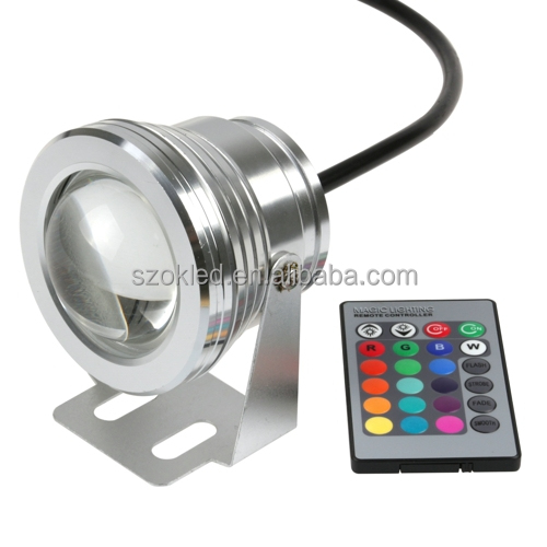 Auto hid projector lens kit 100% waterproof mini led lights high power led underwater lights