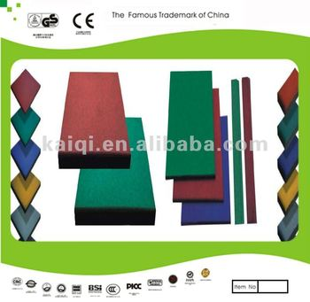 Playground Surface Rubber Mat Floor Tile Rubber Flooring