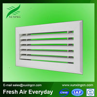 Hvac ventilation plastic return air grilles