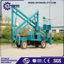 CE certificate approved hydraulic pickup truck boom lift