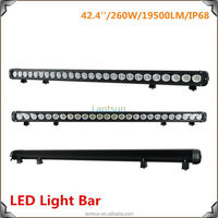 New Arrival high power 260W 42.4 Inch Led Lightbar for SUV ATV use