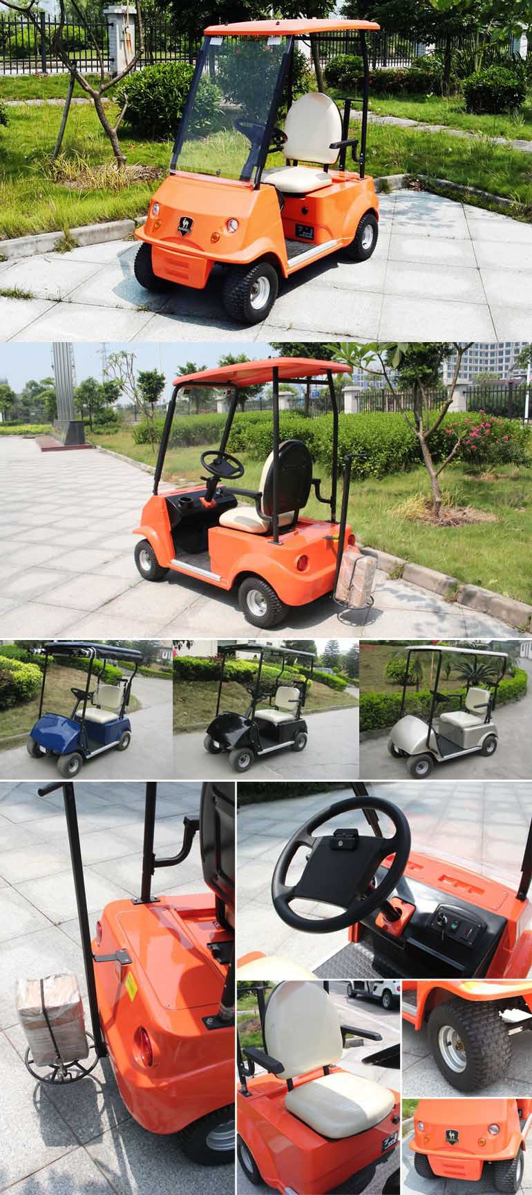 2016 New Single Seater electric golf cart DG-C1 with CE certificate (China)
