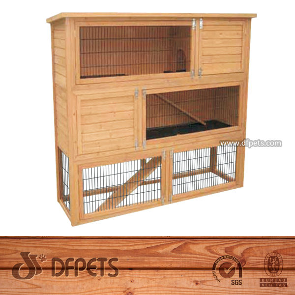 Chinese Small Animal Rabbits Hutch Cage Supply DFR034