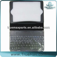 PU Leahter Case for iPad with Bluetooth Keyboard