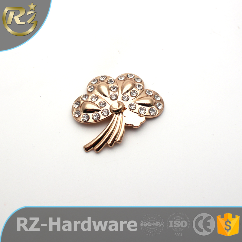Wholesale Butterfly Shape Rhinestone Shoe Accessories