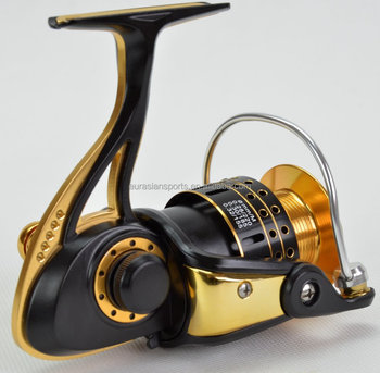Wholesale WZ5000 aluminum foot with CNC handle spinning fishing reel